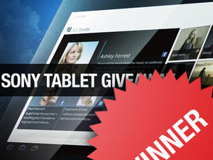 Sony Tablet S Giveaway Winner Announced!