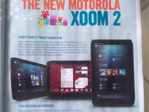 Xoom 2 Leaked in European Ad With Honeycomb, Not Ice Cream Sandwich
