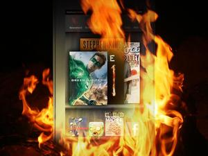 The Fire to Kindle iPad Sales?