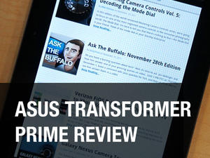 Transformer Prime review: The Best Android Tablet Yet (video)