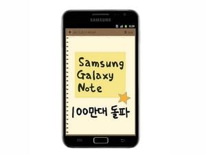 Samsung Galaxy Note Reaches One Million Shipments Just One Month After Launch