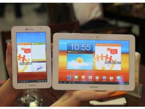 All-White Samsung Galaxy Tabs Spotted In The Wild