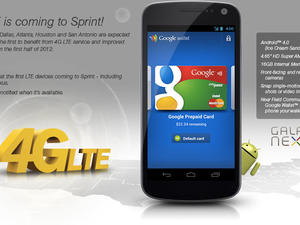 Sprint's 4G LTE Galaxy Nexus May Join LG Viper on April 22nd