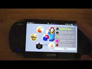 A Quick Tour of the PS Vita's User Interface (Video)