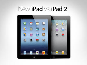 The New iPad and the iPad 2 Compared (Video) - Heir to the Throne