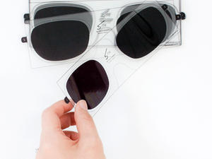 Cool Concept: Peelable 3D Lens Stickers For Eyeglasses