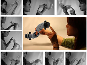 Flexible Pipe Cleaner-like Camera Concept Bends the Mind
