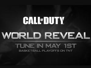 Next Call of Duty 'World Reveal' Coming May 1