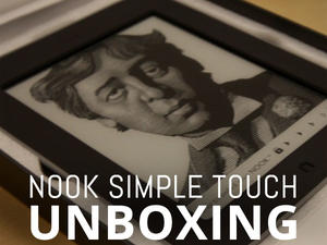 NOOK Simple Touch With GlowLight Unboxing (video)