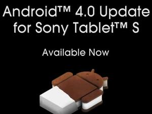Sony Tablet S Gets Ice Cream Sandwich Update From Today [Video]