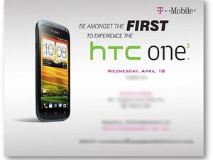T-Mobile to Host HTC One S Event April 18th - Launch Imminent?