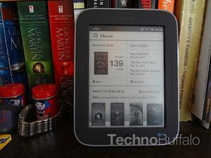 Barnes & Noble Nook Simple Touch with GlowLight review: Light Up Your Life