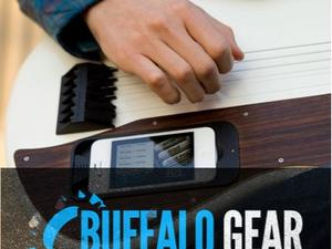 Buffalo Gear: gTar Digital Guitar, Hawk-Eye System and Leap Motion Control
