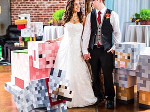 Best Geeky Wedding Ever - The Minecraft Matrimony