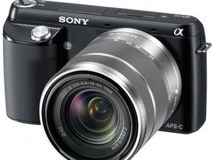 Entry-Level Sony Alpha NEX-F3 Mirrorless Camera Announced