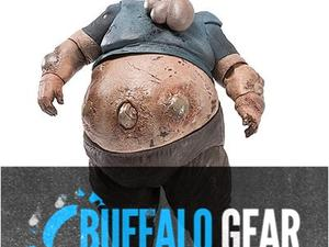 Buffalo Gear: Boomer Action Figure, Neo Geo X, Custom Video Game Covers