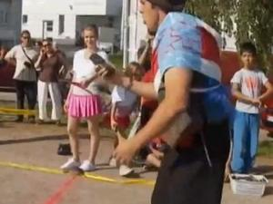 Cell Phone Throwing Championship Crowns a New King