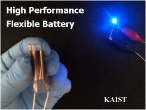 Flexible Battery to Introduce Thinner, Foldable Electronics (Video)