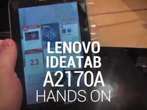 Lenovo IdeaTab A2107A - A Nexus 7 Clone — Hands-On! (Gallery and Video)