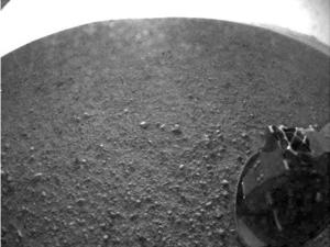 Mars Curiosity Rover Successfully Touches Down, Sends Back First Image