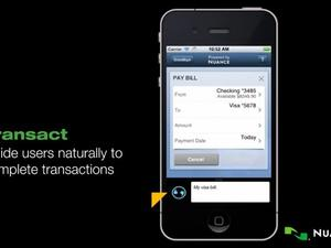 Nuance's Nina Brings Voice Control to Third-Party Apps