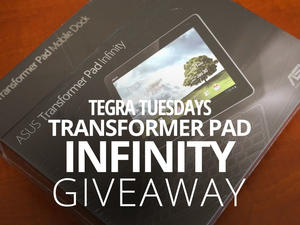 Tegra Tuesday Giveaway: 32GB Transformer Pad Infinity!