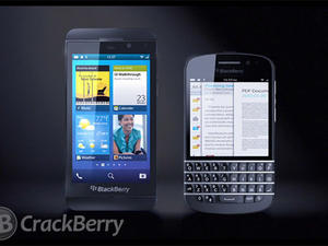 RIM's First BlackBerry 10 Devices Leaked in Internal Marketing Video