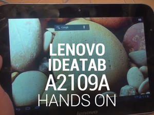 Lenovo IdeaTab A2109A Hands-On! (Gallery and Video)