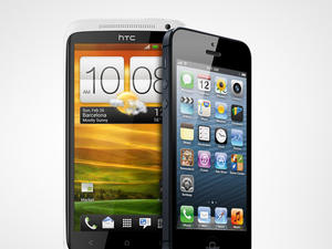 iPhone 5 vs. HTC One X (AT&T) Spec Shootout