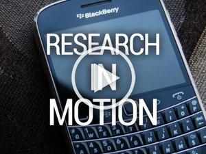 Rettinger's Rants: Research in Motion