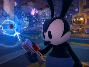 Epic Mickey 2's Reconstructed Wasteland Vignette