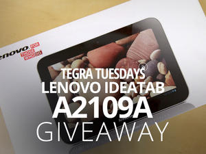Tegra Tuesday Giveaway: 16GB Ideatab A2109A Tablet! (International)