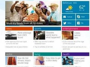 Microsoft Introducing MSN.com Redesign Exclusive to Windows 8 and Internet Explorer 10 (Video)