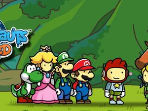Scribblenauts Unlimited Features Nintendo's Mario, Link and More