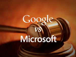 Google and Microsoft Hunker Down for Patent License Trial