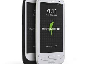 The Mophie Juice Pack is Now Available for Your Samsung Galaxy S III