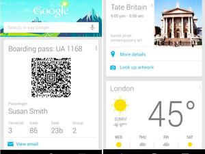 Google Now for Android Updated with Boarding Passes, New Weather, More