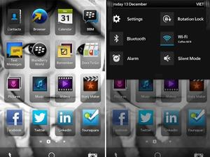Comprehensive BlackBerry 10 UI Screenshots Show Off Apps, Notifications, and More