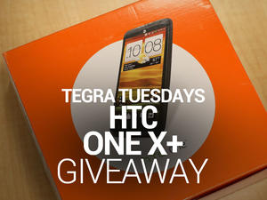 Tegra Tuesday Giveaway: AT&T HTC One X+!