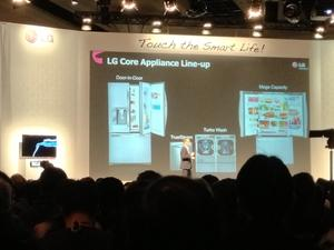 LG to Introduce Smart Refrigerator, Smart Oven, Smart Laundry, Smart Vacuum in 2013