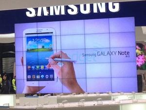 Samsung Galaxy Note 8.0 Appears At Mobile World Congress Early