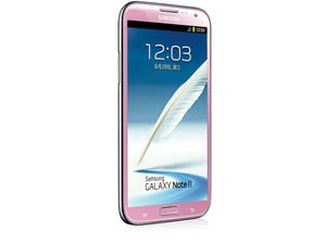 Samsung Galaxy Note II Shown Off in Pink in Taiwan