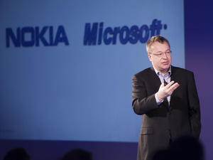 """Nokia CEO: We're Looking at Tablets """"Very Closely"""""""