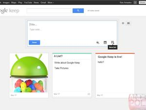 Google Keep to Offer Note Keeping for Android, Desktop Users