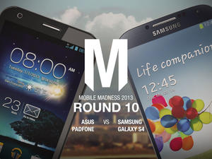Asus PadFone vs. Samsung Galaxy S4 - Round 10 - Mobile Madness 2013