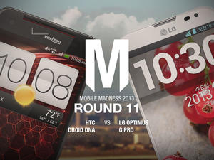 HTC Droid DNA/Butterfly vs. LG Optimus G Pro - Round 11 - Mobile Madness 2013