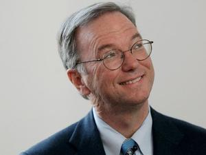 Busted! Former Google CEO Eric Schmidt caught using an iPhone