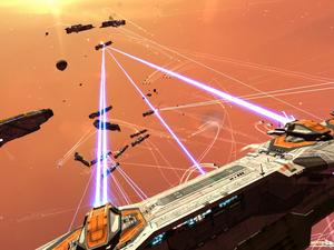 Homeworld Saved From the Ashes of THQ by Gearbox