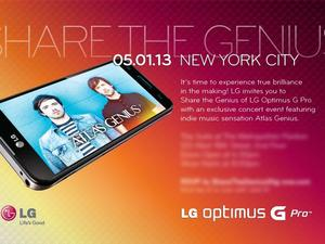 LG Confirms May 1 Event is Optimus G Pro Focused
