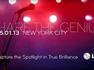 LG Issues Save the Date for May 1 in NYC: Optimus G Pro Inbound?
